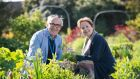 Festival director Rory O'Connell and Californian restaurateur and food activist Alice Waters at the Kerrygold Ballymaloe Literary Festival of Food and Wine. Photograph: Joleen Cronin