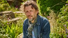 Dan Pearson, whose Laurent-Perrier Chatsworth Garden won the title of Best in Show Garden