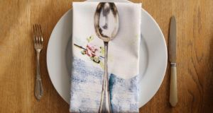 Irish table linen from Jennifer Slattery