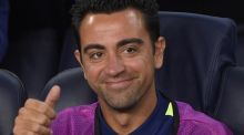 Barcelona's midfielder Xavi Hernandez is set to announce his departure on Thursday. Photo: Getty Images