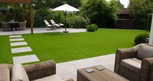 The more realistic the grass the more expensive it tends to be. Prices range from €18 per sq m to €35 per sq m