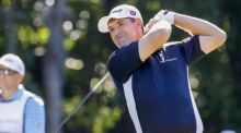 Pádraig Harrington is hopeful he can recover from a shoulder injury in time for tomorrow's first round of the BMW PGA Championship at Wentworth. Photo: Erik Lesser/PA