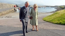 Prince Charles visits Lissadell and Mullaghmore