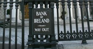 Bank of Ireland finished unchanged  at the end of a day in which more than 24 million shares were traded