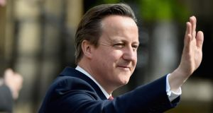 British prime minster David Cameron: he will come face to face with EU leaders for the first time since his party's decisive victory in the British general election two weeks ago. Photograph: Jeff J Mitchell/Getty Images