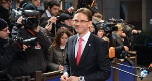 Jyrki Katainen: favours a more market-focused emphasis.  Photograph: Thierry Charlier/AFP/Getty