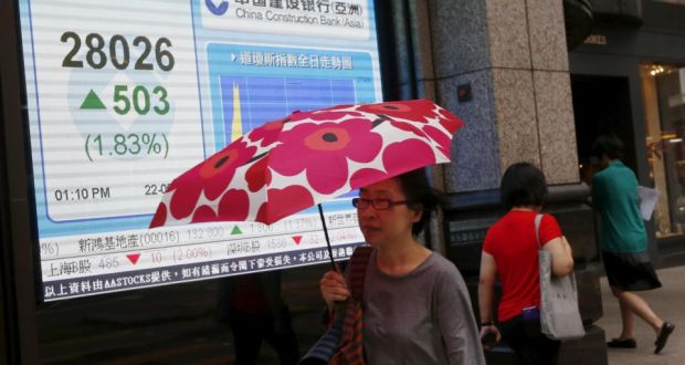 Rout wipes $35bn off market value of Hong Kong companies