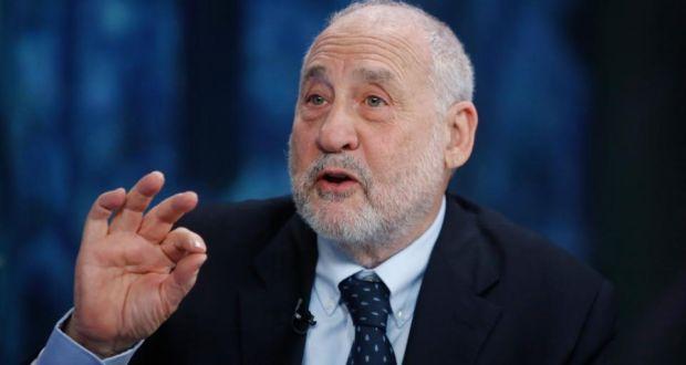 Joseph Stiglitz, Nobel prize-winning economist and professor of economics at Columbia University,. Photograph: Simon Dawson/Bloomberg