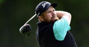 Shane Lowry improved his opening round score by seven shots on Friday as he carded a 67 at the BMW PGA Championship. Photo:   Adam Davy/PA