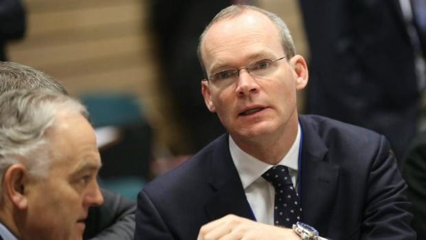 "Director of elections Simon Coveney: ""People recognised that Ireland needed to change."" Photograph: EPA"