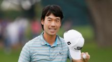 Kevin Na leads the  Crowne Plaza Invitational by a stroke from Ian Poulter heading into the final day. Photograph: Getty