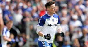 Conor McManus scored seven points for Monaghan as they pipped rivals Cavan at Breffni Park. Photograph: Inpho