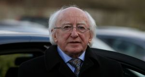 President Michael D Higgins says public cultural spaces are an important aspect of citizenship. Photograph: Brian Lawless/PA Wire