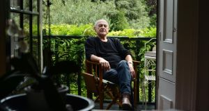 Playwright Tom Murphy at home in Dublin. Photograph: Dara Mac Dónaill