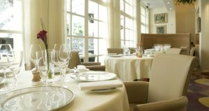 Restaurant Patrick Guilbaud in Dublin's Merrion Hotel has won the top prize at the Irish Restaurant Awards.