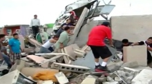 Deadly storms strike Mexico-Texas border