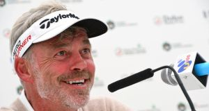 European captain Darren Clarke will keep three wildcard selections for the 2016 Ryder Cup. Photograph: Getty