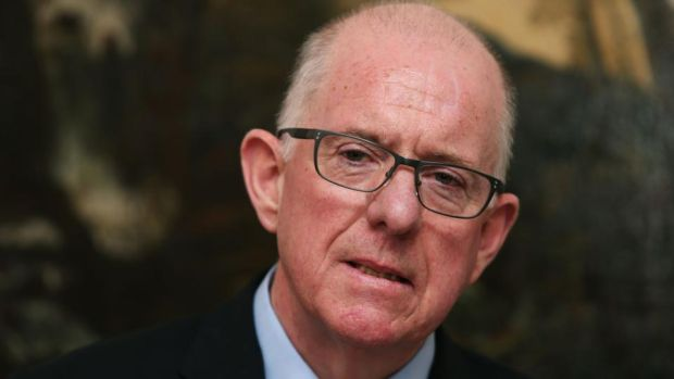 "Minister for Foreign Affairs Charlie Flanagan: ""These are gains worth fighting for and, working with our partners, the Government is determined that the potential represented by the agreement will be realised."" Photograph: Brian Lawless/PA"