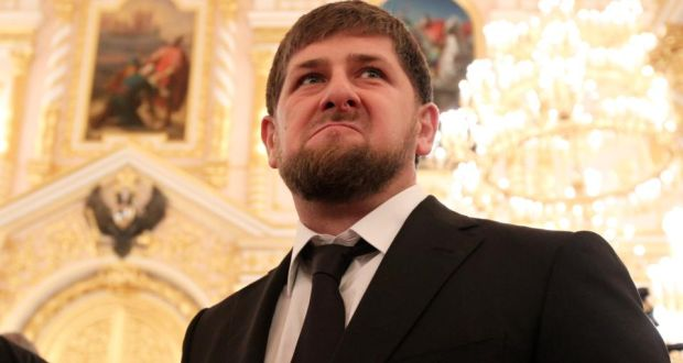 Head of the Chechen Republic Ramzan Kadyrov: controls an 80,000-strong paramilitary group which has displaced Russian federal troops as the guarantor of Chechnya's security. Photograph: Sasha Mordovets/Getty Images
