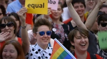 Making History: capturing the Marriage Equality Referendum result