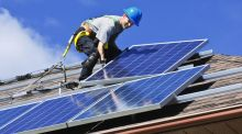 Fortunately, the installation of solar panels on domestic properties is exempt from planning permission under the Planning and Development (Amendment) Regulations 2007, subject to certain conditions.