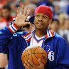 Former Philadelphia 76ers basketball player Allen Iverson burned through a $154 million fortune amassed throughout his career. Photograph: Getty Images.