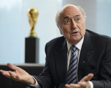 'Sepp  Blatter's executive will now be in deeper dread than ever at the prospect of the Palestine conflict being reproduced within the organisation – particularly in its present fragile state.' Photograph: FABRICE COFFRINI/AFP/Getty Images