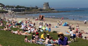 Portmarnock is one of six beaches that  have achieved dual  Blue Flag and Green Coast status. Photograph: Collins