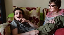 Linda and Jake: A single mother, her teenage son, and autism
