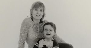 Family: Linda O'Kane and her son, Jake, when he was a young boy. Photograph: GR Watts/family collection