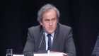 UEFA's Platini calls for Blatter to go