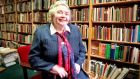 "Maureen Kenny  in Kenny's Bookshop in Galway: ""Mrs Kenny misses nothing"", said  John McGahern at the start of his speech to reopen the bookshop after a major refurbishment in 1996.  Photograph: Eric Luke"