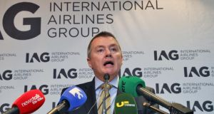 Key player: Willie Walsh, CEO of International Airlines Group. Photograph:   Colin Keegan, Collins Dublin.
