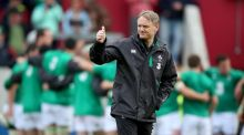 Joe Schmidt looks for advice as he tries to decide  World Cup squad