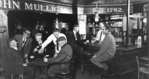 Mulligan's of Poolbeg Street, Dublin in  March 1953. Photograph: The Irish Times
