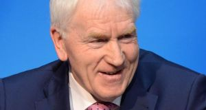 'The appointment last year of Jimmy Deenihan as Minister for Diaspora Affairs certainly gave the issue of emigration more political visibility and he has spent much time meeting and greeting emigrants.' Photograph: Dara Mac Dónaill / The Irish Times