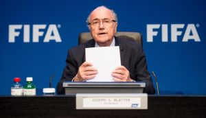Sepp Blatter has denied authorising a payment of 10 million US dollars to Jack Warner. Photograph: EPA