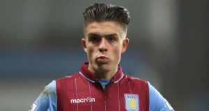 Aston Villa midfielder Jack Grealish has played  a key part in the club's run to the FA Cup final. Photo:   Mike Egerton/PA
