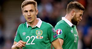Kevin Doyle has been cut from the Republic of Ireland squad for the games against England and Scotland. Photo:  James Crombie/Inpho