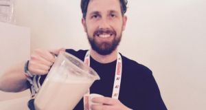 Jacob Krejcik of Czech start-up Heaven Labs, which is selling a version of Soylent called Mana: 'People who've been trying it seem to be surprised at how tasty it is.'