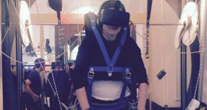 The Occulus virtual skydive, created by Vienna university.