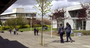 The cost of accommodation for one college year in one block of apartments on the UCD campus is to rise from €5,481 to €6,427 next semester. Photograph: Matt Kavanagh/The Irish Times