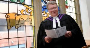 Outgoing Presbyterian moderator Michael Barry. He will be replaced by Rev Dr Ian McNie of Trinity Presbyterian Church in Ballymoney, Co Antrim. Pic Colm Lenaghan/Pacemaker