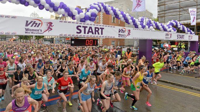 In Pictures Womens Mini Marathon 2015
