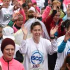 Women are participating in the Mini Marathon on behalf of a multitude of charities. Photograph: Brendan Moran/Sportsfile