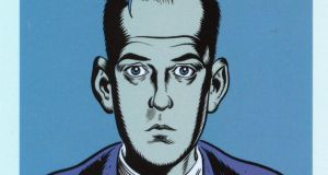 A self-portrait by cult comic-book creator Daniel Clowes
