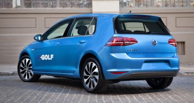 Volkswagen E Golf Not Your Average Electric Car