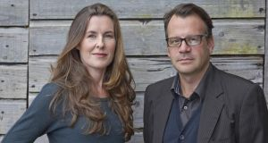 Karen Gillece and Paul Perry: 'We take a character each and we alternate chapters. So it's a kind of relay-write'