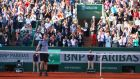 Andy Murray is through to the semi-finals of the French Open after a four set win over David Ferrer. Photograph: Getty