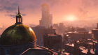 Enjoying a post-nuclear sunset in Fallout 4, the upcoming open world RPG developed by Bethesda Game Studios